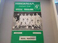 Wanted - Old Hibernian Programmes,Tickets, Memorabilia