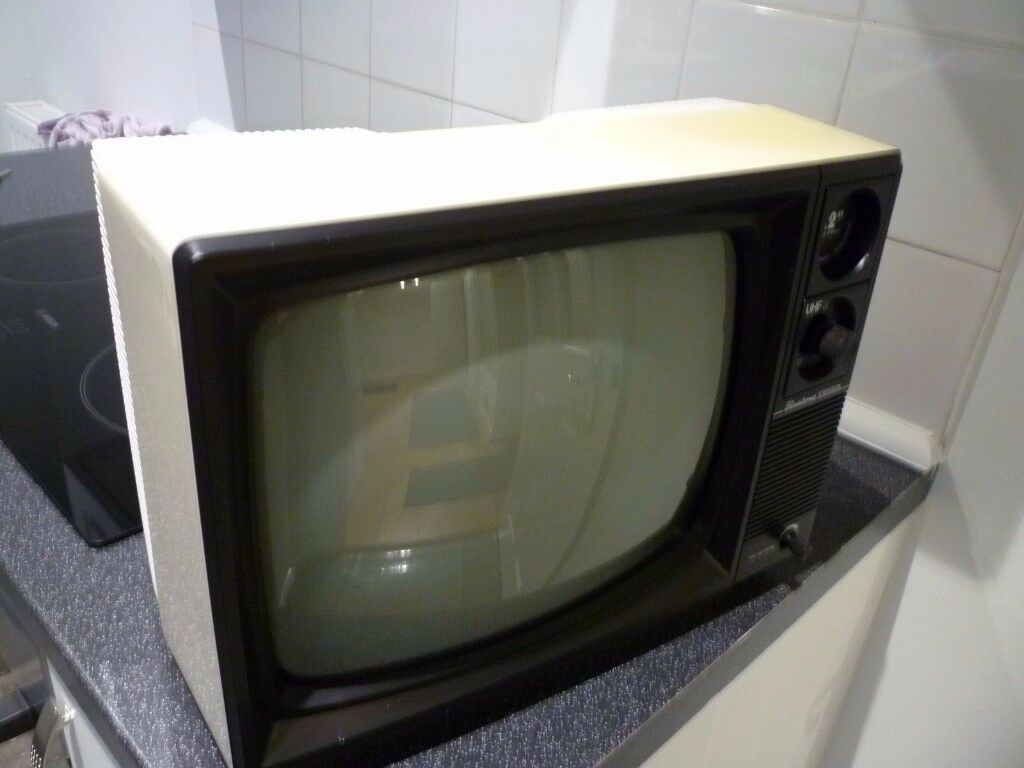 Vintage 12 Inch Black And White Portable Tv In Poole Dorset Gumtree