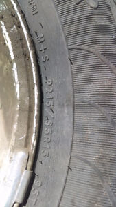 15' goodyear tires.