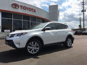 2015 Toyota RAV4 LIMITED AWD, MOONROOF, BACKUP CAMERA, NAVIGATIO