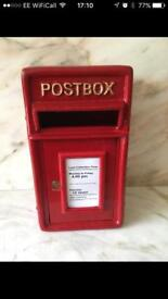 Cast Iron Royal Mail Wedding Post Box