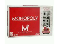 80th Anniversary Edition Monopoly Family Board Game Brand New Sealed