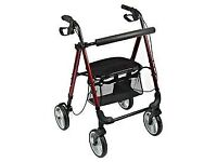 Shopping rollator/walker with seat in as new condition