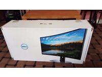 Dell 34 UltraSharp Curved WQHD Gaming Monitor U3417W (Brand NEW Factory Sealed)