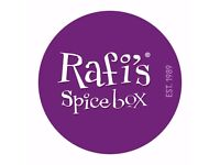 Food Lover? Join the Rafi's Spicebox team!