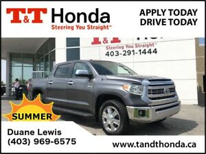 2014 Toyota Tundra Platinum 1794 *1 Owner, Backup Cam, Leather*