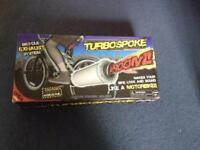 Turbo spoke kids bike exhaust