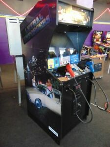 Lethal Enforcers Arcade Machine Reduced