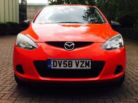 2008 58 MAZDA2 1.4 TD TS Hatchback 5dr Diesel Manual (114 g/km, 67 bhp) ONE OWNER + 12 MONTHS MOT