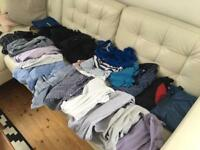Huge bundle of men's clothes