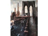 New York Canvas Artwork