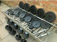York Cast Iron Weights and Bars