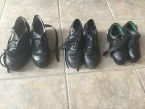 Hard shoes Irish dance