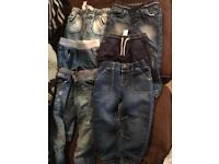 Bundle boys 2-3 years jeans