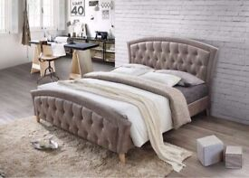 Same Day cash on Delivery-Best Selling Brand- Brand New Double Size Merci Designer Bed