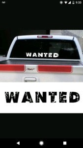 WANTED: 4x4 Truck