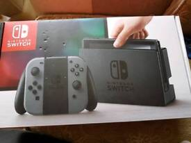 Nintendo switch with Mario kart delux edition