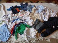 Bargain bundle of boys clothes 0- 3months