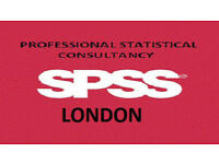 SPSS Statistical Analysis Services, and MINITAB, NVIVO, Excel analysis
