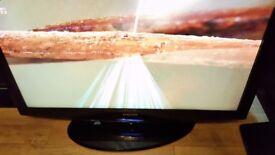 "40"" SAMSUNG LCD FLAT SCREEN TV ,FREEVIEW,HDMI,DVBT,GENUINE REMOTE CHEAP TV"
