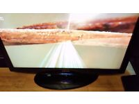 "40"" SAMSUNG LCD FLAT SCREEN TV ,FREEVIEW,HDMI,DVBT,GENUINE REMOTE CHEAP TV"