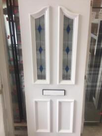 U.P.V.C door panel.