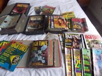High Times magazines, 80's and 90's.