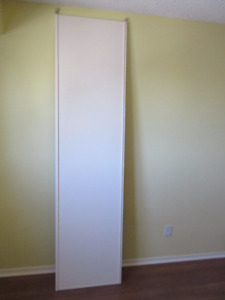 "One 22-1/4"" x 88"" Sliding Closet Door"
