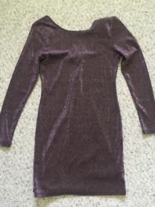 H&M shimmery dress size 12