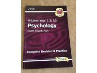 AS/ yr 1 Psychology AQA revision guide CGP
