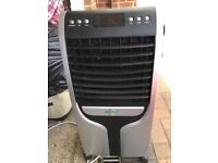 Air cooler and evaporator