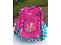 Smiggle girls pink school bag in fab like new condition no marks on it