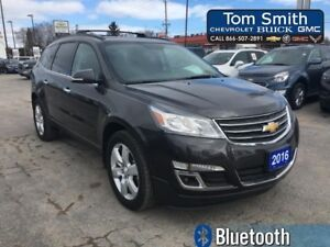 2016 Chevrolet Traverse LT - 7 PASSENGER, 3 ROWS OF SEATING, BLU