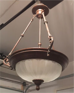 Pendant light fixture/chandelier
