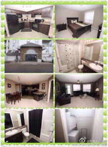 Furnished 2 BR, 2BTHS, 2 Parking lot. right beside clareview LR