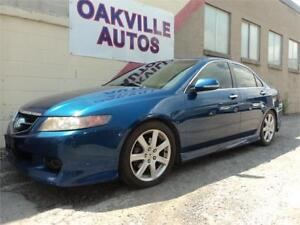 2005 Acura TSX AUTOMATIC LEATHER S/ROOF SAFETY WARRANTY INCL