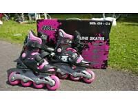 No Fear Girls Inline Skates (C10-C13)