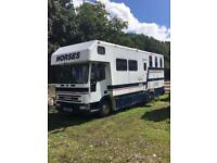 Ford iveco horsebox 7.5 tonne (open to offers)