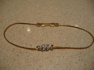 exquisite baguette necklace
