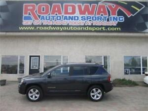 2015 Jeep Compass Sport  4X4  PST PAID!