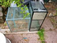 Marine aquarium sumps and breeder tank for sale