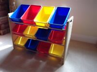NOW REDUCED! FANTASTIC TOY STORAGE UNITS, TWO AVAILABLE - NEED QUICK SALE DUE HOUSE MOVE