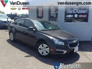 2015 Chevrolet Cruze LT Turbo  - Certified - Bluetooth -  Sirius