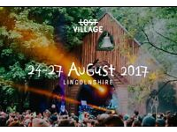 x2 Lost Village Festival Tickets