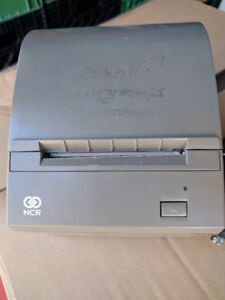 """NCR USB and rs232 ports,3"""" thermal receipt printer,used,excel"""