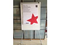 5 star office flip chart easel