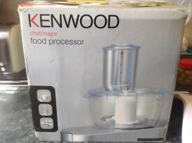 Kenwood food processor chef/major attachment