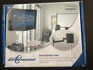 Evermount TV Wall Mount Black $25