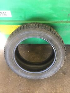 Used set 235/55R17 firestone winter force 95% tread left