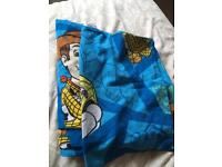 Toy story cot bed duvet cover